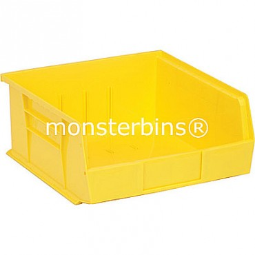 Monster MB235 Stacking Plastic Bins 11x11x5  Yellow