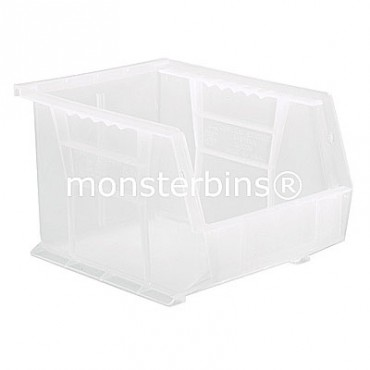 Quantum Clear Stacking Plastic Bins QUS239CL