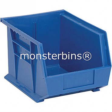 Monster MB239 Stacking Plastic Bins 11x8x7  Blue