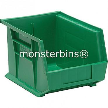 Quantum QUS239 Stacking Plastic Bins 11x8x7  Green
