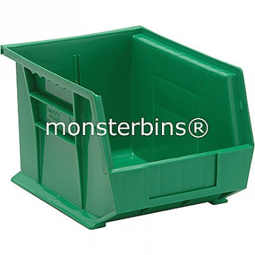 Monster MB239 Stacking Plastic Bins 11x8x7  Green