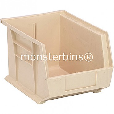 Monster MB239 Stacking Plastic Bins 11x8x7  Ivory