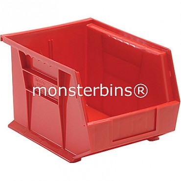 Quantum QUS239 Stacking Plastic Bins 11x8x7  Red