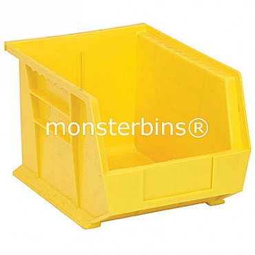 Quantum QUS239 Stacking Plastic Bins 11x8x7  Yellow