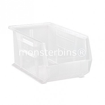 Quantum Clear Stacking Plastic Bins QUS240CL