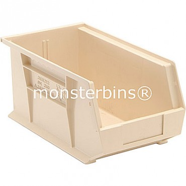 Monster MB240 Stacking Plastic Bins 15x8x7  Ivory
