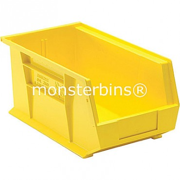 Monster MB240 Stacking Plastic Bins 15x8x7  Yellow