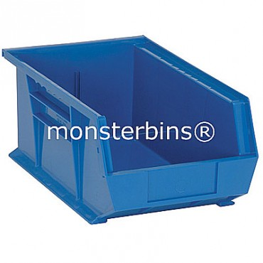 Monster MB241 Stacking Plastic Bins 13x8x6  Blue