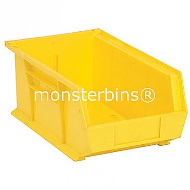 Quantum QUS241 Stacking Plastic Bins 13x8x6  Yellow