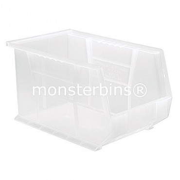 Monster Clear Stacking Plastic Bins MB242CL