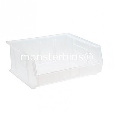 Quantum Clear Stacking Plastic Bins QUS250CL