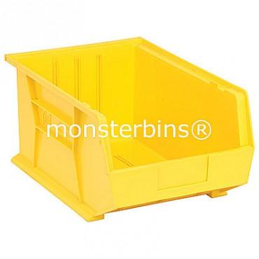 Quantum QUS255 Stacking Plastic Bins 16x11x8  Yellow