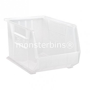 Quantum Clear Stacking Plastic Bins QUS260CL