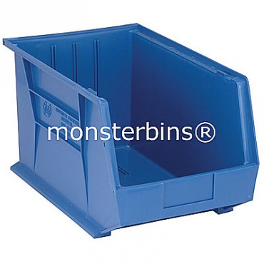 Monster MB260 Stacking Plastic Bins 18x11x10  Blue