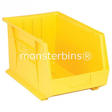 Quantum QUS260 Stacking Plastic Bins 18x11x10  Yellow
