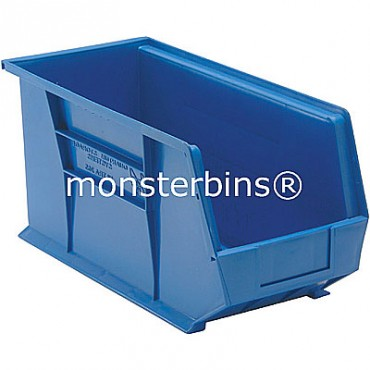 Monster MB265 Stacking Plastic Bins 18x8x9  Blue