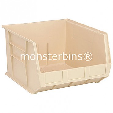 Monster MB270 Stacking Plastic Bins 18x16x11  Ivory