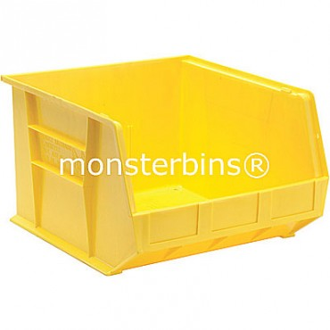 Quantum QUS270 Stacking Plastic Bins 18x16x11  Yellow
