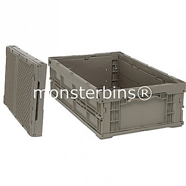 Heavy-Duty Collapsable Container - 24x15x7-1/2