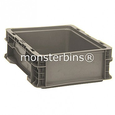 Heavy-Duty Straight Wall Stacking Container - 12x15x5