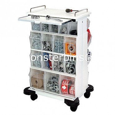 Tip Out Bin Cart - 2 QTB305, 4 QTB304, 2 QTB303 Units
