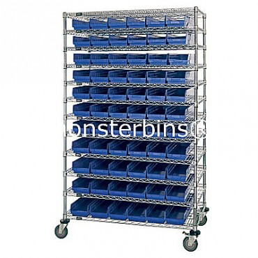 18x48x74 - 12 Shelves - 55 MSB103, 36 MSB104