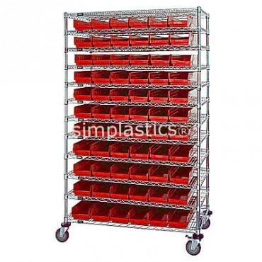 24x72x74 - 12 Shelves - 176 MSB105