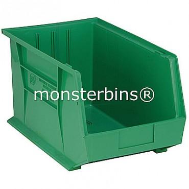 Monster MB260 Stacking Plastic Bins 18x11x10  Green